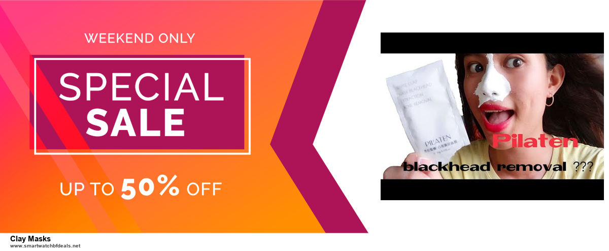 6 Best Clay Masks Black Friday 2020 and Cyber Monday Deals | Huge Discount