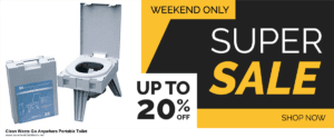 Top 11 Black Friday and Cyber Monday Clean Waste Go Anywhere Portable Toilet 2020 Deals Massive Discount