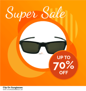9 Best Black Friday and Cyber Monday Clip On Sunglasses Deals 2020 [Up to 40% OFF]