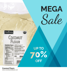 List of 6 Coconut Flours Black Friday 2020 and Cyber MondayDeals [Extra 50% Discount]
