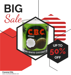 6 Best Coconut Oils Black Friday 2020 and Cyber Monday Deals   Huge Discount