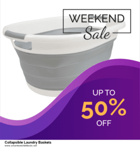 13 Exclusive Black Friday and Cyber Monday Collapsible Laundry Baskets Deals 2020