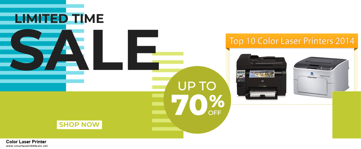 Top 5 Black Friday 2020 and Cyber Monday Color Laser Printer Deals [Grab Now]