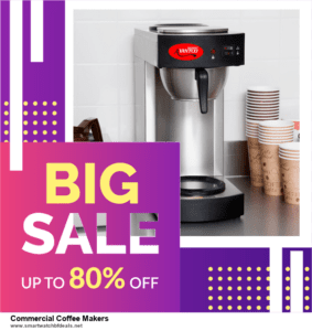 List of 6 Commercial Coffee Makers Black Friday 2020 and Cyber MondayDeals [Extra 50% Discount]