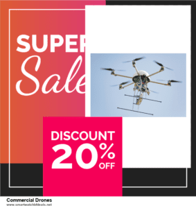 13 Best Black Friday and Cyber Monday 2020 Commercial Drones Deals [Up to 50% OFF]