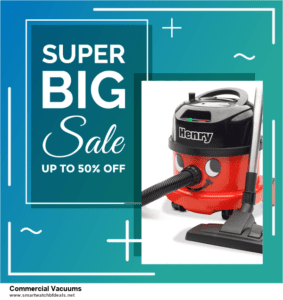 Top 10 Commercial Vacuums Black Friday 2020 and Cyber Monday Deals