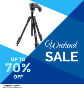 9 Best Black Friday and Cyber Monday Compact Tripods Deals 2020 [Up to 40% OFF]