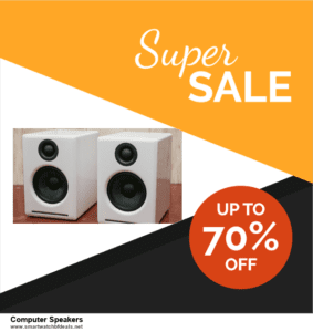Top 11 Black Friday and Cyber Monday Computer Speakers 2020 Deals Massive Discount