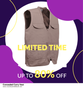 Top 10 Concealed Carry Vest Black Friday 2020 and Cyber Monday Deals