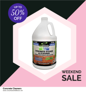 Top 5 Black Friday 2020 and Cyber Monday Concrete Cleaners Deals [Grab Now]