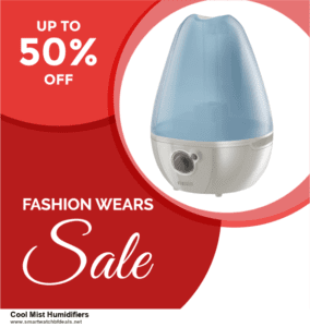 List of 6 Cool Mist Humidifiers Black Friday 2020 and Cyber MondayDeals [Extra 50% Discount]