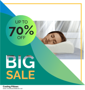 6 Best Cooling Pillows Black Friday 2020 and Cyber Monday Deals   Huge Discount