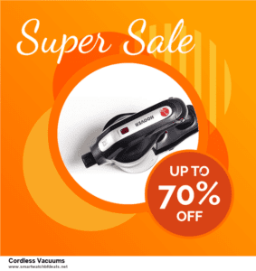 Top 11 Black Friday and Cyber Monday Cordless Vacuums 2020 Deals Massive Discount