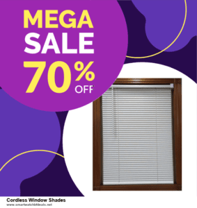 Top 5 Black Friday 2020 and Cyber Monday Cordless Window Shades Deals [Grab Now]