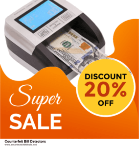 10 Best Counterfeit Bill Detectors Black Friday 2020 and Cyber Monday Deals Discount Coupons