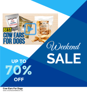 Grab 10 Best Black Friday and Cyber Monday Cow Ears For Dogs Deals & Sales
