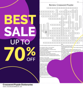 Top 5 Black Friday 2020 and Cyber Monday Crossword Puzzle Dictionaries Deals [Grab Now]