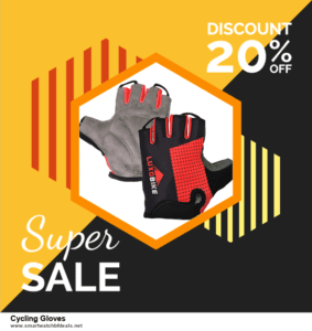 6 Best Cycling Gloves Black Friday 2020 and Cyber Monday Deals | Huge Discount