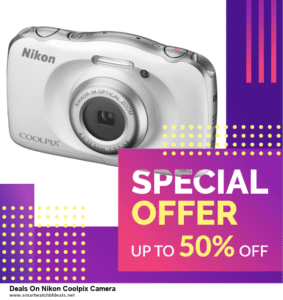 List of 6 Deals On Nikon Coolpix Camera Black Friday 2020 and Cyber MondayDeals [Extra 50% Discount]