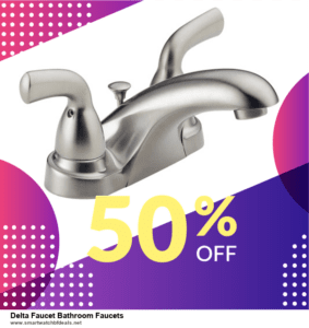 13 Exclusive Black Friday and Cyber Monday Delta Faucet Bathroom Faucets Deals 2020
