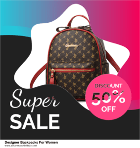 List of 6 Designer Backpacks For Women Black Friday 2021 and Cyber MondayDeals [Extra 50% Discount]
