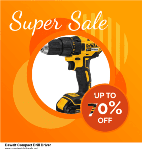 10 Best Black Friday 2020 and Cyber Monday  Dewalt Compact Drill Driver Deals   40% OFF