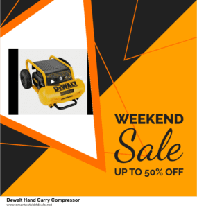 List of 10 Best Black Friday and Cyber Monday Dewalt Hand Carry Compressor Deals 2020