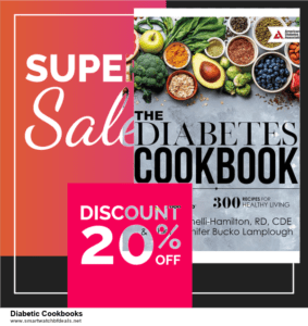 7 Best Diabetic Cookbooks Black Friday 2020 and Cyber Monday Deals [Up to 30% Discount]