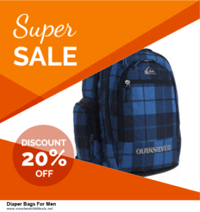 Top 5 Black Friday and Cyber Monday Diaper Bags For Men Deals 2020 Buy Now