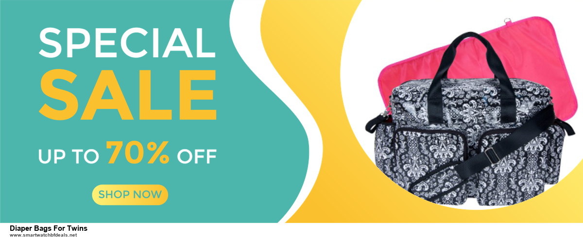 6 Best Diaper Bags For Twins Black Friday 2020 and Cyber Monday Deals | Huge Discount