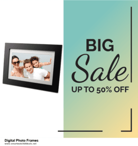 Grab 10 Best Black Friday and Cyber Monday Digital Photo Frames Deals & Sales