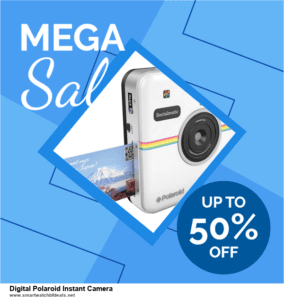 Top 5 Black Friday 2020 and Cyber Monday Digital Polaroid Instant Camera Deals [Grab Now]