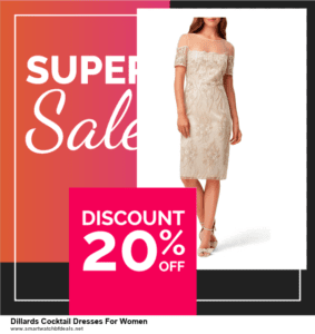 5 Best Dillards Cocktail Dresses For Women Black Friday 2020 and Cyber Monday Deals & Sales