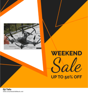 5 Best Dji Tello Black Friday 2020 and Cyber Monday Deals & Sales
