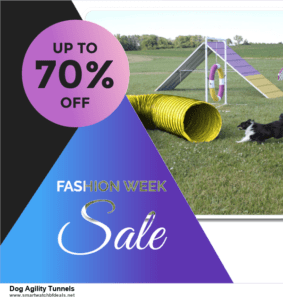 13 Best Black Friday and Cyber Monday 2020 Dog Agility Tunnels Deals [Up to 50% OFF]