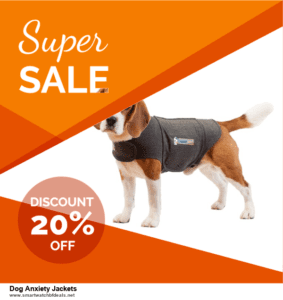 Top 5 Black Friday and Cyber Monday Dog Anxiety Jackets Deals 2020 Buy Now