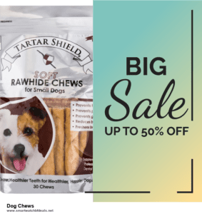 7 Best Dog Chews Black Friday 2020 and Cyber Monday Deals [Up to 30% Discount]