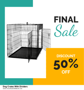 10 Best Dog Crates With Dividers Black Friday 2020 and Cyber Monday Deals Discount Coupons