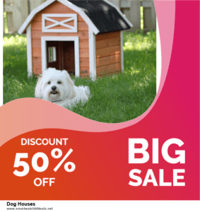9 Best Black Friday and Cyber Monday Dog Houses Deals 2020 [Up to 40% OFF]
