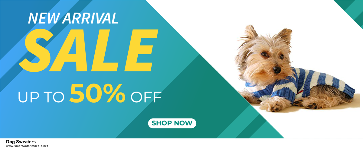13 Best Black Friday and Cyber Monday 2020 Dog Sweaters Deals [Up to 50% OFF]