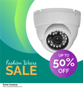 9 Best Black Friday and Cyber Monday Dome Cameras Deals 2020 [Up to 40% OFF]