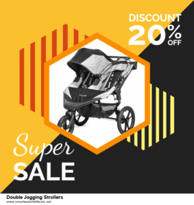 List of 6 Double Jogging Strollers Black Friday 2020 and Cyber MondayDeals [Extra 50% Discount]