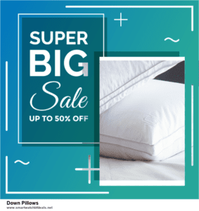 Top 11 Black Friday and Cyber Monday Down Pillows 2020 Deals Massive Discount