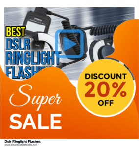 Top 5 Black Friday and Cyber Monday Dslr Ringlight Flashes Deals 2020 Buy Now
