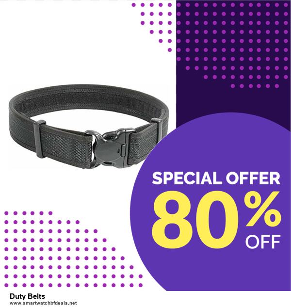 Grab 10 Best Black Friday and Cyber Monday Duty Belts Deals & Sales