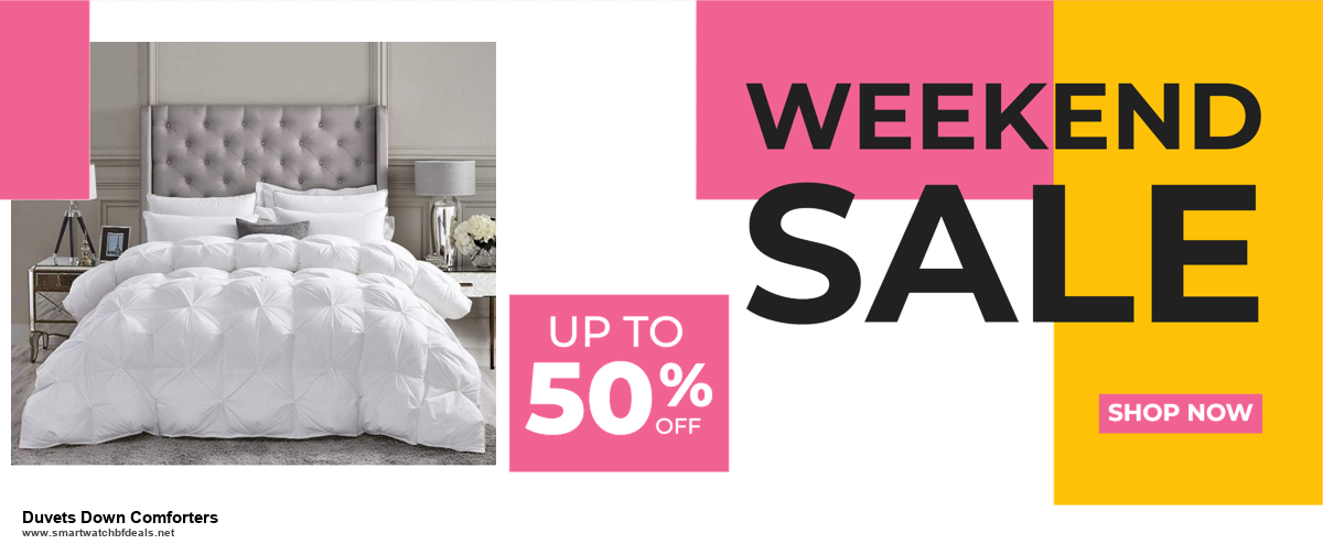 Grab 10 Best Black Friday and Cyber Monday Duvets Down Comforters Deals & Sales