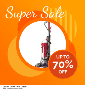 6 Best Dyson Dc55 Total Clean Black Friday 2020 and Cyber Monday Deals | Huge Discount