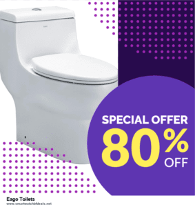 List of 6 Eago Toilets Black Friday 2021 and Cyber MondayDeals [Extra 50% Discount]