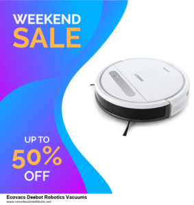 7 Best Ecovacs Deebot Robotics Vacuums Black Friday 2020 and Cyber Monday Deals [Up to 30% Discount]