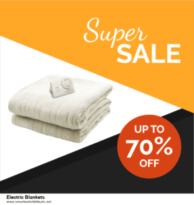 7 Best Electric Blankets Black Friday 2020 and Cyber Monday Deals [Up to 30% Discount]